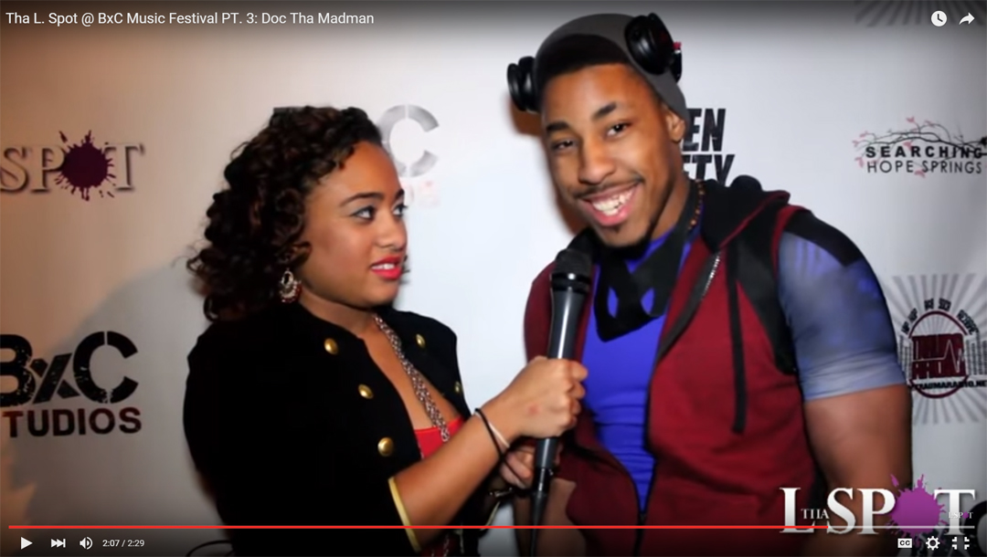 The L Spot Interview after BXC Music Festival Performance at The Drom NY