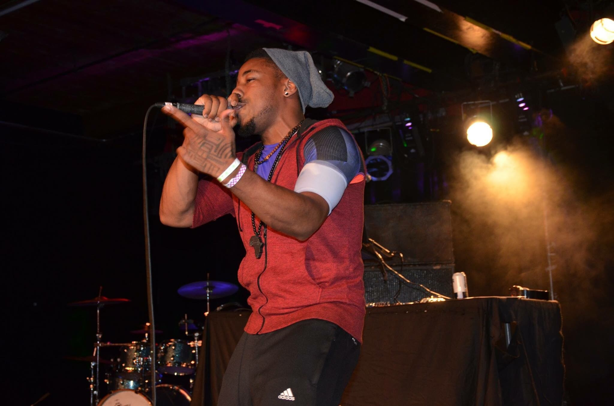 Doc ThaMADMan performance, Hustler Spirit Showcase at The Masquerade Atlanta 2015